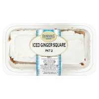 Brownings Iced Ginger Square