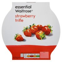 essential Waitrose strawberry trifle