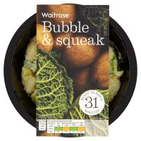Waitrose bubble & squeak