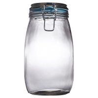 Waitrose Cooking 1.5L/3.25LB glass preserving jar