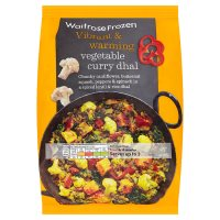 Waitrose Frozen Vegetable Curry Dhal