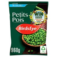 Birds Eye field fresh petits pois re-sealable frozen