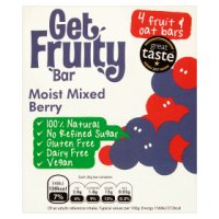Get Fruity Mixed Berry Oat Bars