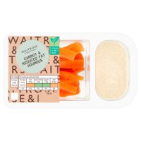 Waitrose LOVE life carrot & reduced fat houmous