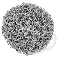 Waitrose Twisted Silver Wire Bauble