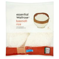 essential Waitrose basmati rice