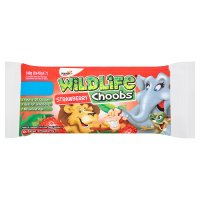 Yoplait wildlife choobs strawberry yogurt