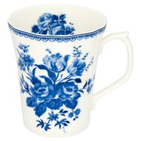 Duchy Originals from Waitrose china blue posy mug