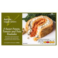 Waitrose Frozen sweet potato, tomato & feta roulades