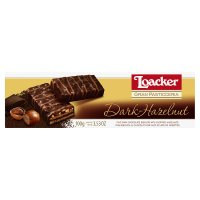 Loacker dark chocolate hazelnuts biscuits