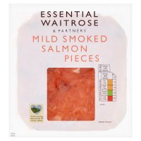 Waitrose Scottish smoked salmon pieces