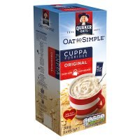 Quaker Oat So Simple Cuppa original porridge cereal sachets