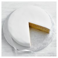 Fiona Cairns Vanilla Sponge Celebration Cake 25cm (Undecorated)