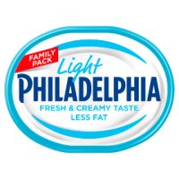 Philadelphia Light soft white cheese