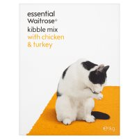 essential Waitrose kibble mix with chicken & turkey