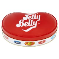 Jelly Belly bean shaped tin