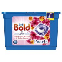 Bold 2in1 Peony & Rose Blush Washing Capsules 18 Washes