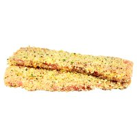 Waitrose British pork escalope with Gruyere & mustard crumb