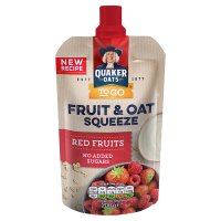 Quaker Oat & Fruit Breakfast Red Fruits
