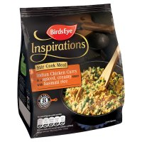 Birds Eye South Indian chicken curry frozen