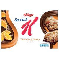 Kelloggs Special K Chocolate and Orange Bars