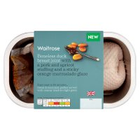 Waitrose Boneless duck breast joint