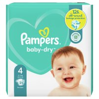 Pampers Baby Dry Size 4 Carry 27 Nappies