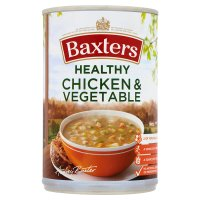 Baxters healthy choice chicken & vegetable soup