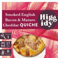 Higgidy Little smoked bacon & Cheddar quiche
