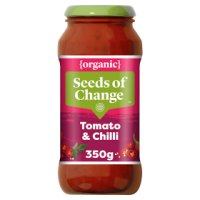 Seeds of Change organic tomato & chilli pasta sauce