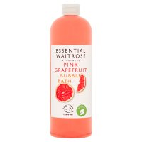 essential Waitrose Grapefruit Bath