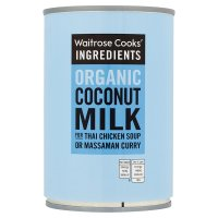 Waitrose Cooks' Ingredients organic coconut milk