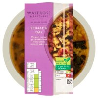 Waitrose spinach dal