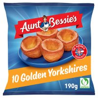 Aunt Bessie's 12 frozen golden Yorkshires