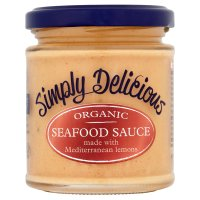 Simply Delicious organic seafood sauce