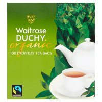 Waitrose Duchy 100 everyday tea bags