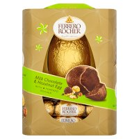 Ferrero Rocher Milk Chocolate & Hazelnut Egg with 8 Ferrero Rocher 275g