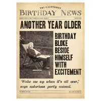 Birthday News , Another year older