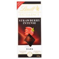 Lindt Excellence dark strawberry intense