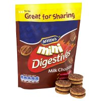 McVitie's mini milk chocolate digestives