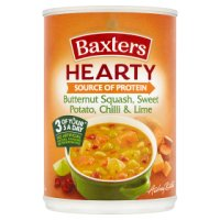 Baxters hearty butternut & sweet potato