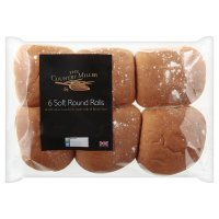 The Country Miller 6 soft white round rolls