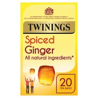Twinings ginger 20 tea bags