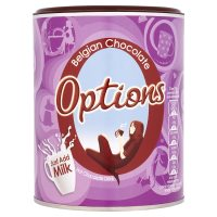 Options Belgian chocolate