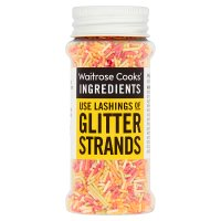 Waitrose Cooks' Homebaking bright glitter strands