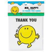 Mr. Men thank you cards