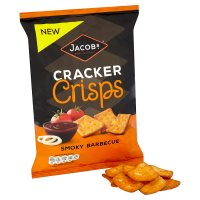 Jacobs Cracker Crisps Smoky Barbecue