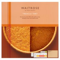Waitrose treacle tart