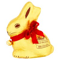 Lindt gold milk chocolate bunny
