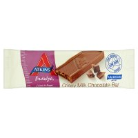 Atkins endulge milk chocolate crisp bar